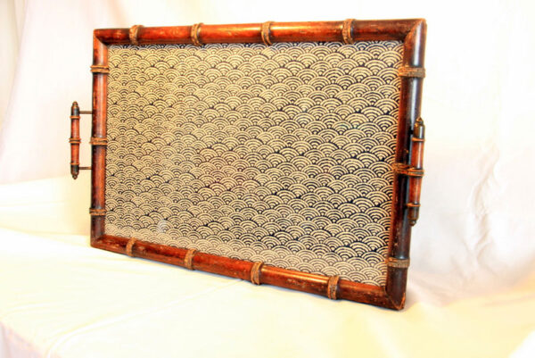 Antique Dealer Colonial Tray