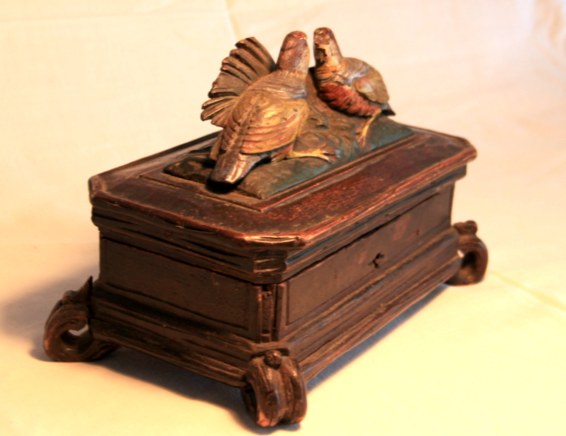 Antique Dealer Wooden Box
