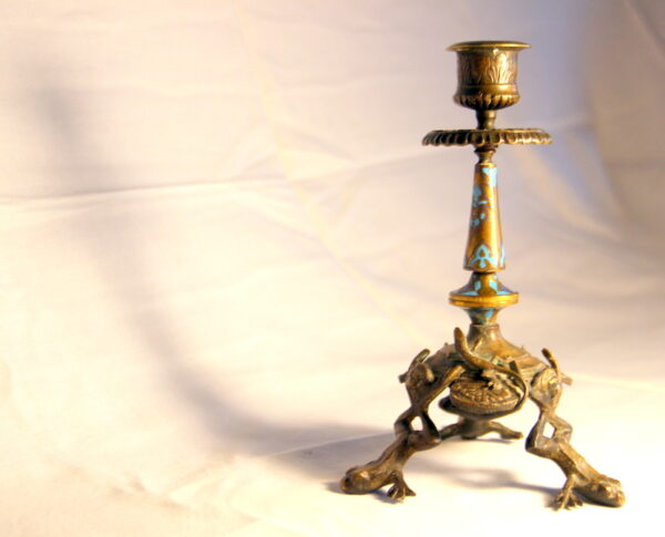 Antique Dealer Brass Chandelier