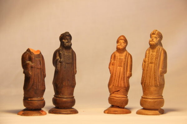 Ancient chess set